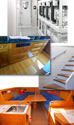 Interior boat painting and refinishing services for Painting aluminum boat interior